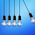 five bulb lights 1036936