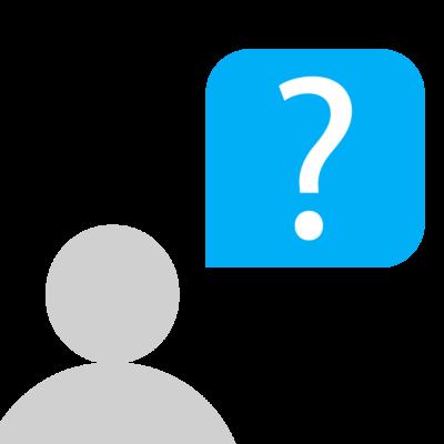 Nutzer stellt eine Frage