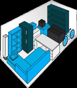 Möbel richtig einlagern
